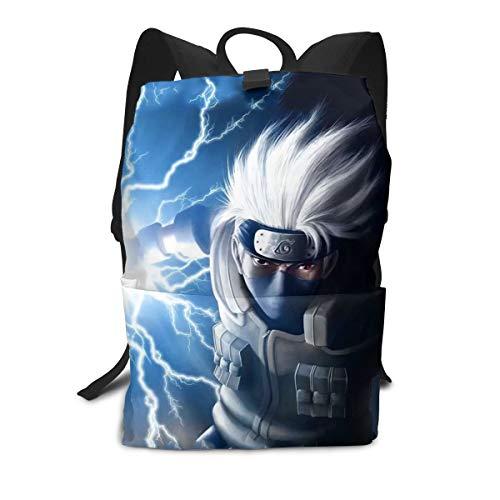 Shuqqur Japanese Naruto Lightning 3D Anime Backpack Shoulders Bag Rucksack Daypack Color10