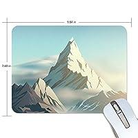 マウスパッド かわいい 高山の朝 日上げ 雲上 高級 ノート パソコン マウス パッド 柔らかい ゲーミング よく 滑る 便利 静音 携帯 手首 楽