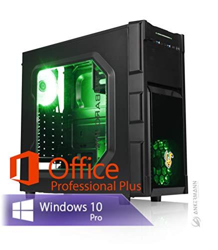 Ankermann Rabbit Gaming Gamer PC Intel i5-9400F 6X 2.90GHz NVIDIA GeForce GTX 1660 SUPER OC 6GB 16GB RAM 480 GB SSD 1TB HDD Windows 10 PRO W-LAN Office Professional