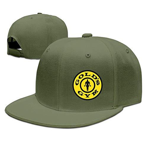 LIU888888 Golds Gym Hat Unisex-Adult Freestyle Snapback Cap,Sombreros y Gorras