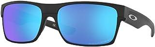 Oakley Twoface OO9189 918935 60M Matte Black/Sapphire Iridium Polarized Sunglasses For Men+BUNDLE with Oakley Accessory Le...