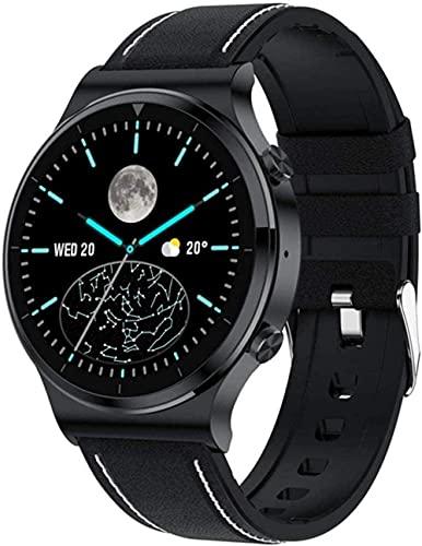 Reloj Inteligente Reloj de Pulsera Fitness Tracker Bluetooth Llamada Reloj Inteligente Hombres IP68 Impermeable 1 3 Pulgadas Pantalla Táctil Completa Deportes Fitness Health Actividad Tracker B-D