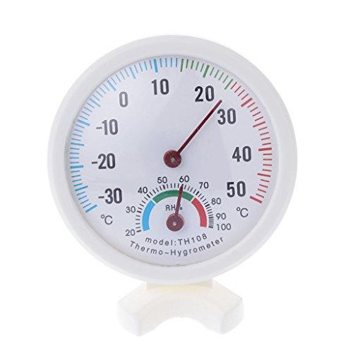Wanfor Thermometer Hygrometer, für drinnen und draußen, Temperatur- und Feuchtigkeitsüberwachung
