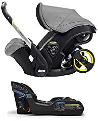 CAR SEAT WITH WHEELS - Doona is the world's  first car seat with integrated wheels meaning that in less than five  seconds you can be out of your car with your precious little one and on  your way in safety and style. SAFETY - has been designed, alon...