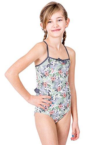 Petit Amour Mädchen-Badeanzug Kinder-Bademode MyBird Bademode für Kinder und Jugendliche Größen 92 98 104 110 116 122 128 134 140 146 152 158 bunt weiß Gr. 116/122