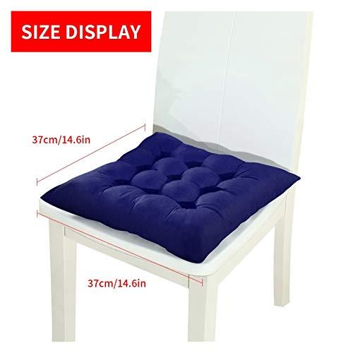 Mirui Women Men Anti-hemorrhoid Massage Cushion Hip Push Up Orthopedic Comfort Foam Tailbone Car Office Chair Seat Mat 44x41x7.5cm (Color : Univesal)