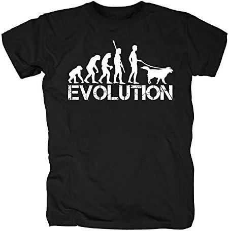 TSP Perro evolución Camiseta para Hombre T-Shirt