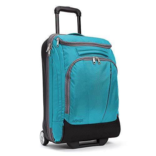 eBags Mother Lode 21 Inches Carry-On Rolling Duffel (Tropical Turquoise)