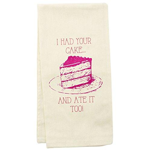 wit! Tea Towels, Cake