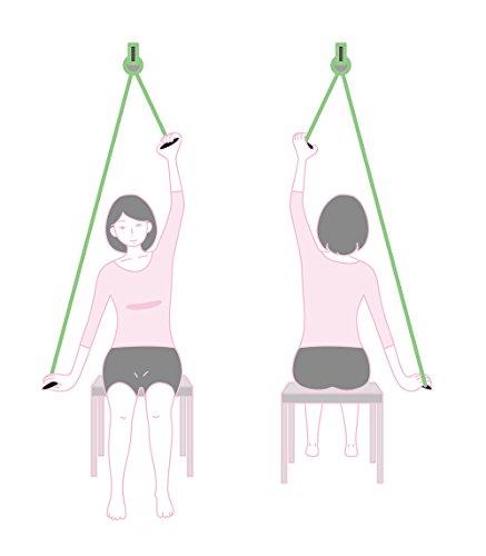 肩甲骨 ストレッチャー[ 肩を大きく動かすエクササイズ] 肩こり 解消グッズ ストレッチ 肩甲骨はがし 四十肩 五十肩 セルフ マッサージ