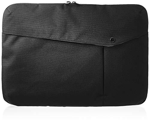 AmazonBasics - Funda para portátil, 38 cm, negro
