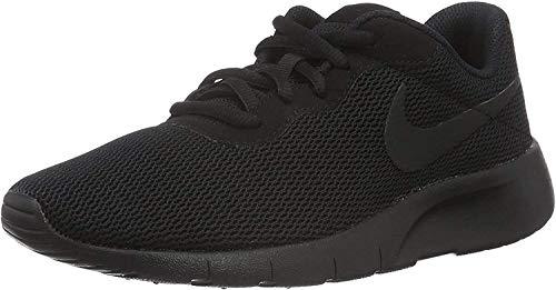 Nike Tanjun, Scarpe da Ginnastica Basse Unisex-Bambini, Nero Black 001, 37.5 EU