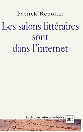 Les salons littéraires sont dans l'internet