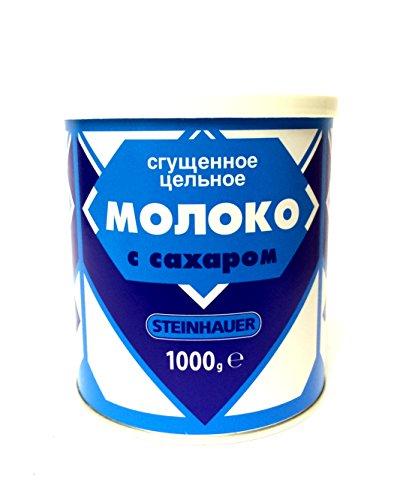 4 x 1000g Steinhauer gezuckerte Kondensmilch 8 % Fett