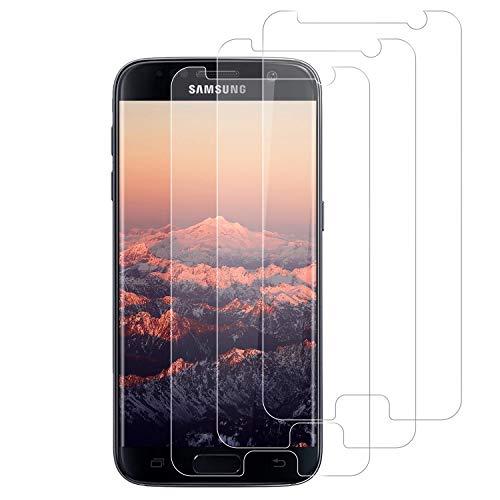 Lixuve [3 Pezzi] Pellicola Protettiva Vetro Temperato per Samsung Galaxy S7, Durezza 9H, Anti Graffio, Senza Bolle, Alta Definizione, Olio-Prova Samsung S7 Protezioni Schermo