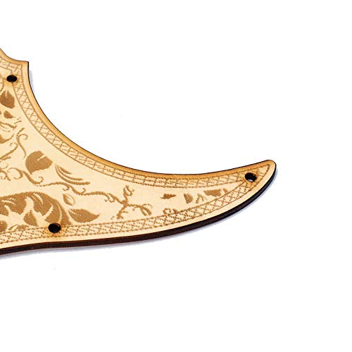 Popular brand Limited time for free shipping in the world Guitar Parts Electric Pickguard Board Protective R Wooden