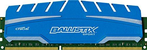 Ballistix Sport XT 32GB Kit 8GBx4 DDR3 1866 MT/s PC3-14900 CL10 at 1.5V UDIMM 240-Pin Memory BLS4C8G3D18ADS3