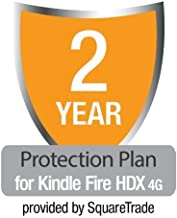 2-Year Protection Plan plus Accident Coverage for Kindle Fire HDX 4G