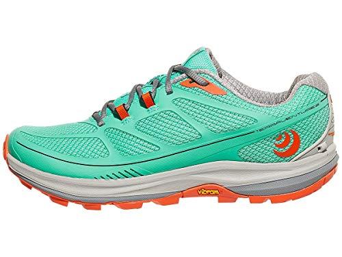 Topo Terraventure 2 Trail - Zapatillas de Running para Mujer, 10, Mint/Tangerine