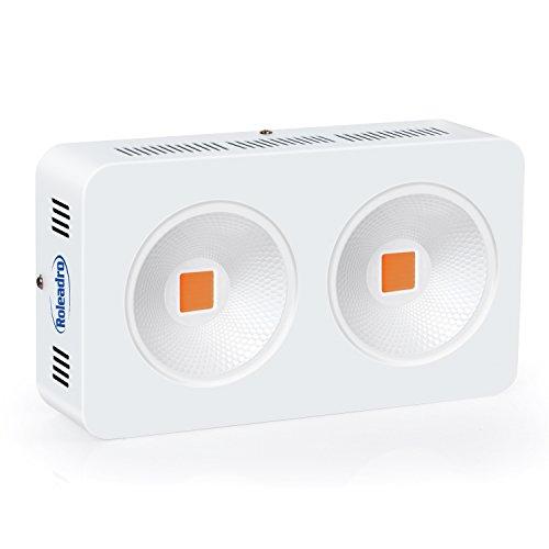 Roleadro HYG08-2X400W-W 800W COB Full Spectrum Grow Light LED Plant Lamp