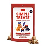 Simple Treats for Dogs - Natural Beef Liver Training Treats - Raw, Freeze Dried, Single Ingredient Protein Snack and Meal Topper (Beef Liver, 142 g.)