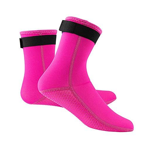 XIANGHUI Diving Socks - Calcetines de Buceo - Calcetines Profesionales de 3MM para Neopreno Buceo Material de Neopreno Equipo de Snorkel Botas