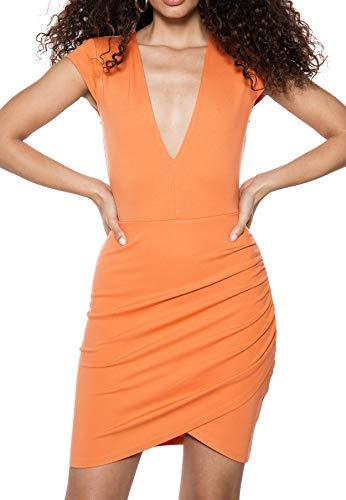 IVYREVEL V-Neck Shoulder Pad Top Vestaglia Donna