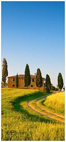posterdepot ktt0411 Türtapete Türposter Villa in der Toskana-Größe 93 x 205 cm