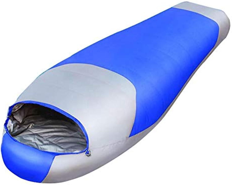 DDEET Schlafsack Ultraleicht-down-Sport-wandern Schlaftaschen Im Freien Winter Winter Winter Camping Duck Down Erwachsene Mummy Waterproof Sleeping Bags Blau B07NWGL37D  Fairer Preis 05a95a