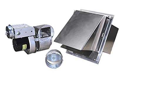 Tjernlund GPAKJ Complete Vent System for Gas Heaters Up to 120,000 BTU
