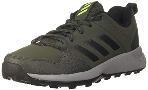 Adidas Men's Argo Trek 19 Legend Earth/Core Black/Solar Slime Trekking Shoes-10 UK (45 EU) (10.5 US) (CM5923)