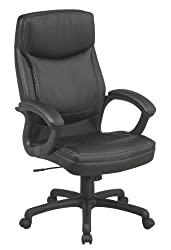 Black Executive Office Chair By Office Star