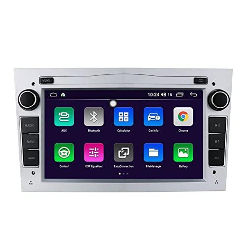 ACCZ GPS Coche, Localizador GPS para Coche Compatible con Opel, GPS Coche Localizador De 7 Pulgadas para Coche, Puerto USB, Enlace Espejo, Control del Volante, Bluetooth, 1080P