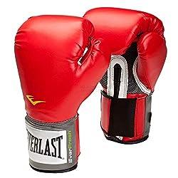 Everlast Adult Boxing Items 2100 Pro Style Training Gloves, White, 12, 057211 01020