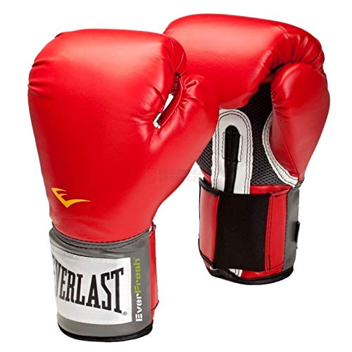 Everlast Erwachsene Boxartikel 2100  Pro Style Training Gloves, Red, 12, 057211 08020