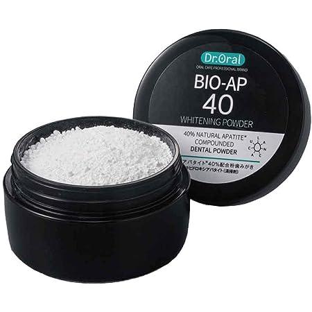 ドクターオーラル (Dr.Oral) Dr.オーラル ホワイトニングパウダー 天然アパタイト40% 配合 【A】ミント 単品 26グラム (x 1)