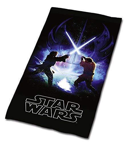Tex IDEA STAR WARS JODA Skywalker Paño de Terciopelo de toalla de Baño Toalla Sauna 75 x 150 NUEVO WOW - all-in-one-outlet-24