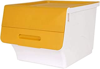 Corbeilles à linge Paniers à Linge Panier de Rangement Boîte de Rangement Boîte de Rangement Vêtements superposés Boîte de...