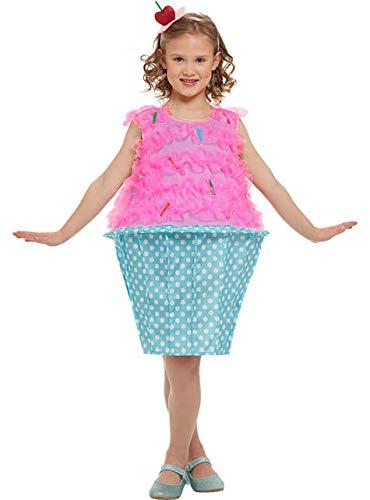Funidelia Disfraz de Cupcake para niña