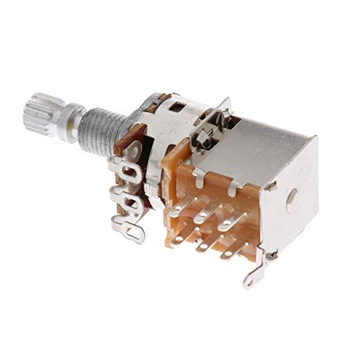 NC Potenciómetro de Guitarra Eléctrica Control de Tono de Volumen Pot DIY Luthier Tool - hierro