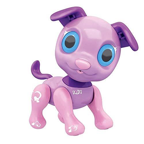 ADLIN Juguete for perro robot, de función tienen de Seguimiento, cantar y perro Electronic Dance mascota robot juguete inteligente Niños Interactivo Caminar cachorro de sonido con luz LED for la Educa