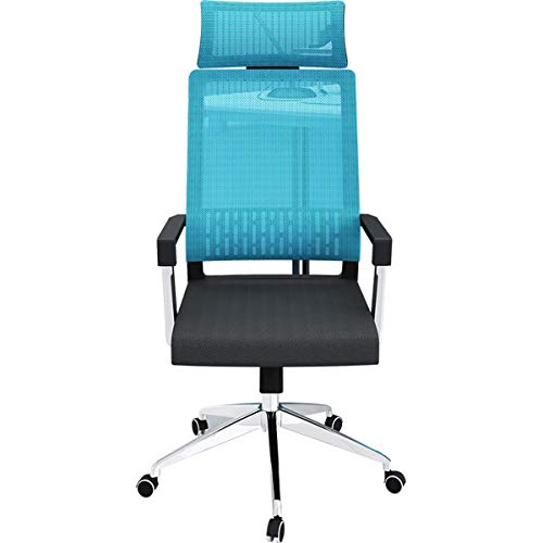 Office Chair Mesh Desk Chairs with Adjustable Armrests and Back Support Ergonomic Swivel Computer Chair for Home Office Study Gaming