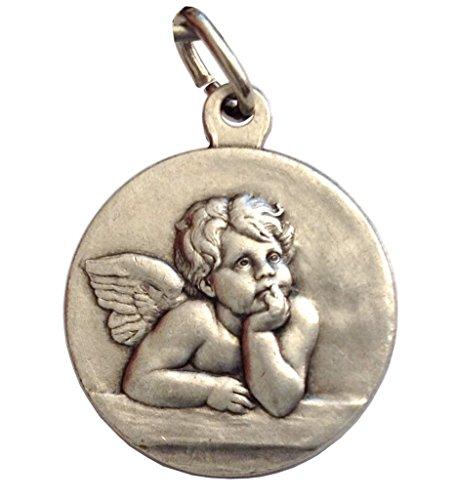 Igj Medaglia del Santo Angelo Custode Putto - Le Medaglie dei Santi Patroni