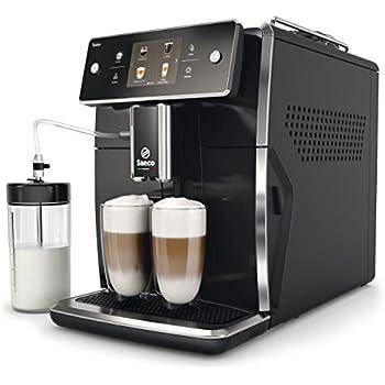 Philips Saeco Xelsis Independiente Máquina espresso Negro 1,6 L Totalmente automática - Cafetera (Independiente, Máquina espresso, 1,6 L, Granos de café, Molinillo integrado, Negro): Amazon.es: Hogar