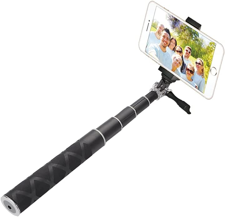 Los Japan Maker New Angeles Mall Selfie Stick with Bluetooth Remote Shutter
