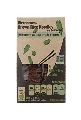 Star Anise Foods Noodles Brown Rice Vietnamese, Seaweed, 8.6 Ounce