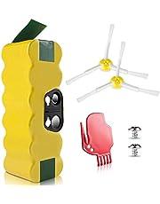 Morpilot 4050mAh 14.4V Ni-MH Batterie de Remplacement, Compatible avec iRobot Séries 500, 600, 700, 800, 900