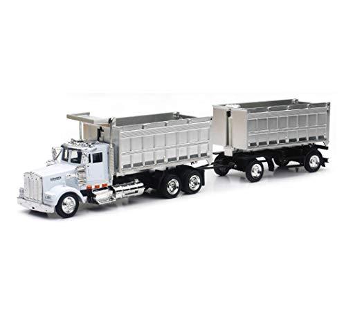 Fast Lane 1:43 Scale Might Haulers - Kenworth W900 Double Dump Truck