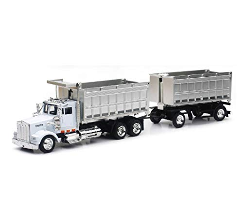 1/43 D/C Kenworth W900 Double Dump Truck, Color May Vary
