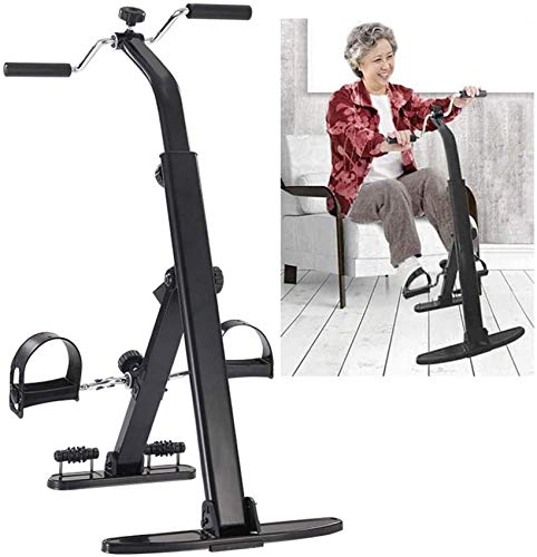 FGDSA La Máquina De Rehabilitación Plegable, El Ejercitador De Brazos Y Piernas De Bicicleta Estática Promueve El Equipo De Ejercicios De Circulación Sanguínea para P